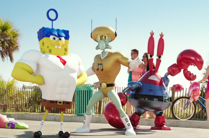 SpongeBob Cs Jadi Superhero di Trailer Film 'Sponge Out of Water'