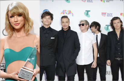 Bareng 1D, Harry Styles Kalahkan Taylor Swift di Billboard 200