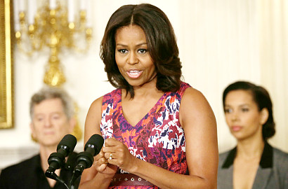 Michelle Obama Akan Hadiri Talk Show 'The Night Shift'