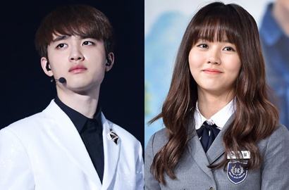 D.O. EXO dan Kim So Hyun Konfirmasi Adu Akting di 'Pure Love'