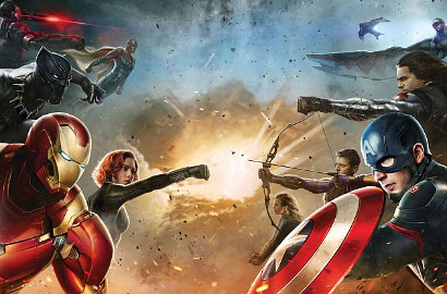 Tim Superhero di 'Captain America: Civil War' Dibagi 2 Tim, Siapa Anggotanya?