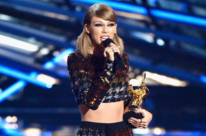 Nama Taylor Swift Dominasi Daftar Pemenang  MTV Music Awards 2015