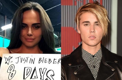 Model Cantik di MV 'What Do You Mean?' Cinlok dengan Justin Bieber?