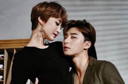 Foto Syuting Bocor, Park Seo Joon-Jun Hee Bakal Ciuman di 'She Was Pretty'