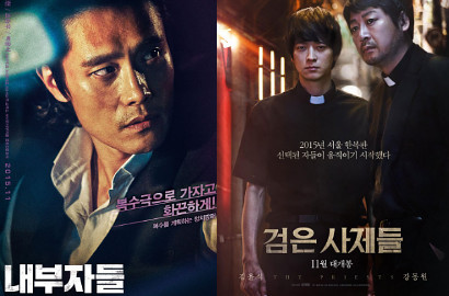 'Inside Men' Lee Byung Hun Geser 'Black Priests' Kang Dong Won di Box Office