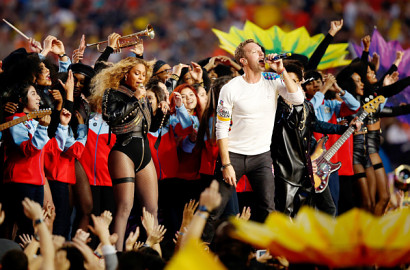 Beyonce, Coldplay dan Bruno Mars Guncang Super Bowl 2016