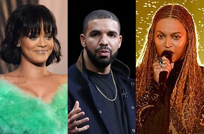 Kalahkan Rihanna, Beyonce Knowles-Drake Dominasi BET Awards 2016