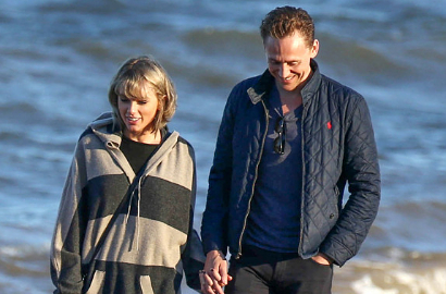 Liburan ke Roma, Taylor Swift Ngaku Tergila-Gila dengan Tom Hiddleston
