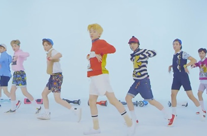 NCT Dream Adu Imut Main Skateboard di Teaser MV 'Chewing Gum'