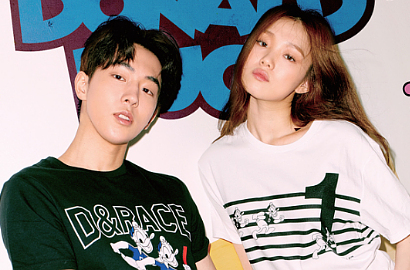 Tampil Sporty, Intip Nam Joo Hyuk-Lee Sung Kyung Syuting 'Weightlifting Fairy'