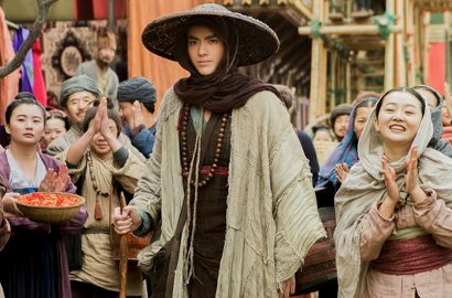 Gundul, Kris Pakai Selendang dan Topi di Foto 'Journey to the West 2'