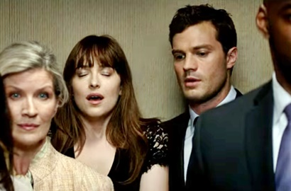 Adegan Intim Dakota Johnson dan Jamie Dornan Makin 'Panas' di Trailer Baru 'Fifty Shades Darker'
