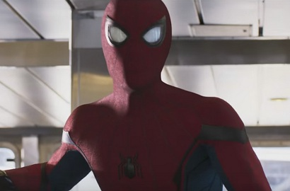 Hadapi Vulture, Spider-Man Pakai Kostum Baru di Trailer 'Spider-Man: Homecoming'