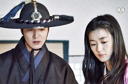 Ciuman Dalam Air Jun Ji Hyun-Lee Min Ho di 'Legend of Blue Sea' Raup Rating Tertinggi