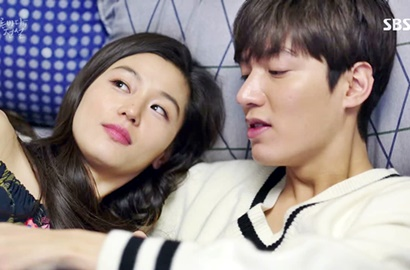 Frustasi Ayah Meninggal, Lee Min Ho Dipeluk Jun Ji Hyun di 'Legend of the Blue Sea'
