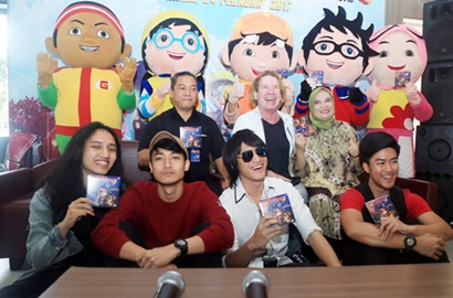 Kevin and The Red Rose Isi Soundtrack Film 'Boboiboy The Movie'