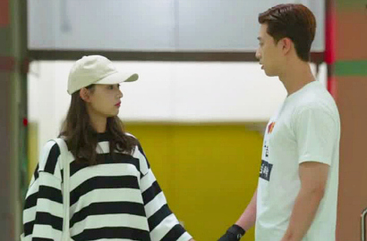 Syuting 'Fight For My Way', Manisnya Kim Ji Won Pijati Pundak Park Seo Joon