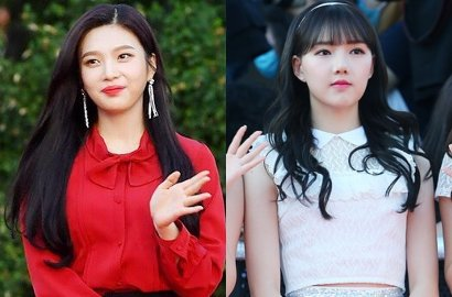 Manisnya Interaksi Joy Red Velvet dan Yerin G-Friend di Backstage 'Soribada Awards'