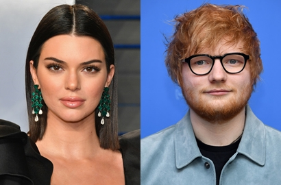 Muncul di MV 'Freaky Friday' Chris Brown, Kendall Jenner dan Ed Sheeran Malah Tuai Kritikan