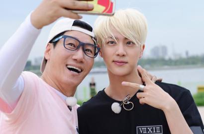 Ngaku Dekat, Ji Suk Jin Bikin Kaget Sukses Menelepon Jin BTS di 'Running Man'