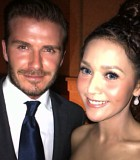 Maia Estianty Serasi dengan David Beckham