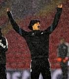 Ronaldo cs Terjang Badai Saat Latihan di Markas Liverpool