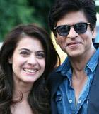 Shahrukh Khan Peluk Kajol di Video Syuting 'Dilwale'