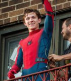 Foto Tom Holland Syuting 'Spider-Man: Homecoming'